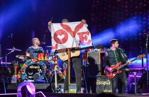 Coldplay Concert, Taiwan