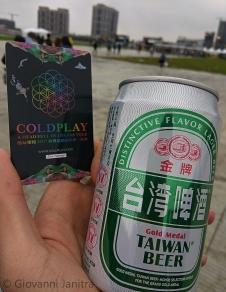 Coldplay Concert Taiwan