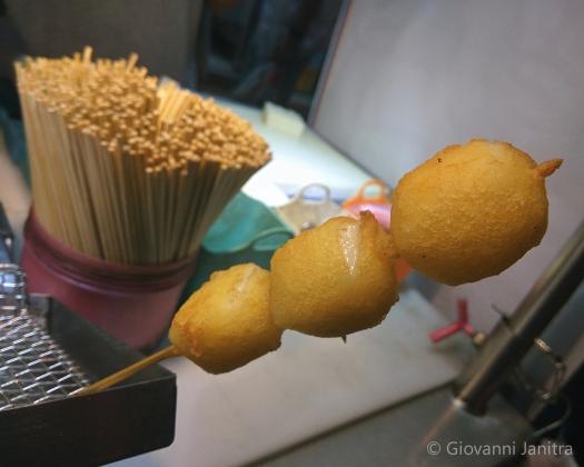 Fried Milk Shilin Night Market