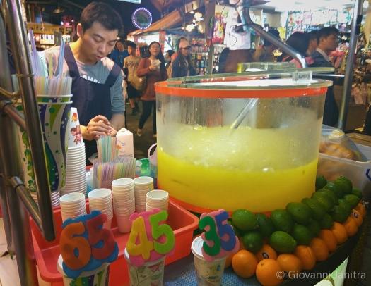 Fresh Lemon and Orange Juice, Shilin Night Market